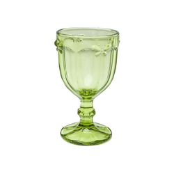 KARE Weinglas Weinglas Goblet Butterfly Olive, Glas