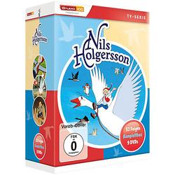 DVD Nils Holgersson - Komplettbox Hörbuch