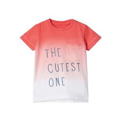 name it T-Shirt NBMJESONNO Calypso Coral