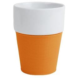 Xantia Becher Silikon orange