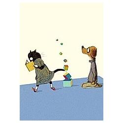 Klötzchenturm, Postkarten