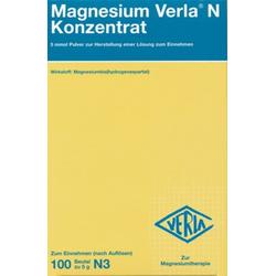 Magnesium Verla N Konzentrat Pulver