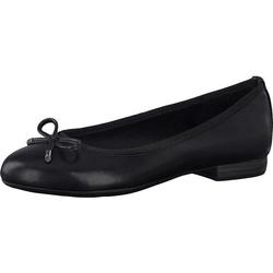 Ballerina, schwarz, Gr. 38 - 38 - schwarz
