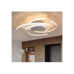ZMH LED Deckenleuchte 77W Ring Design für Esszimmer Schlafzimmer