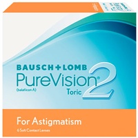 Bausch + Lomb PureVision2 HD for Astigmatism 6 St. / 8.90 BC / 14.50 DIA / -2.00 DPT / -0.75 CYL / 10° AX