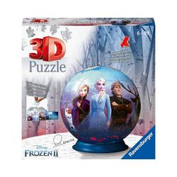 Ravensburger 3D-Puzzle puzzleball® Ø13 cm, 72 Teile, Die Eiskönigin, Puzzleteile