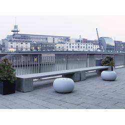 Moree Bubble X Hocker Filz Grün - Tisch