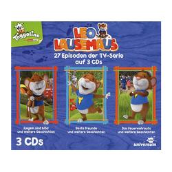 Leo Lausemaus - LEO LAUSEMAUS HÖRSPIELBOX (CD)