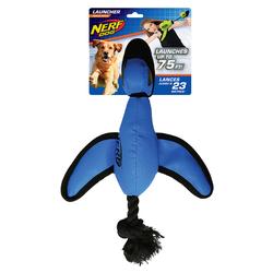 Nerf Dog Plüschkatapult Ente blau