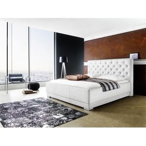 Polsterbett Bett Doppelbett Tagesbett - Barcelona - 180x200 Cm Weiss