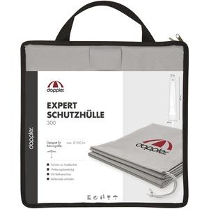 doppler Expert Schutzhülle grau in Tragetasche mit RV, mit Stab 300 cm