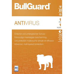 Bullguard Antivirus 2018 Vollversion, 1 Lizenz Windows Antivirus