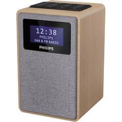Philips R5005 Radiowecker DAB+, DAB, UKW DAB+, UKW Braun, Grau
