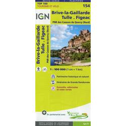 Brive-la-Gaillarde 1:100 000