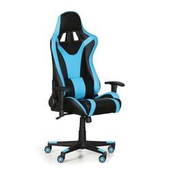 Gamer-sessel für pc, blau