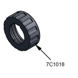 PC Cox Ersatzteil 7C 1018 2 Start Machined Cap Überwurfkopf vorne