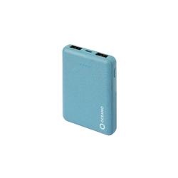 sbs SBS Powerbank 25000 mAh mit 2x USB, 2.1A - Power Bank zu 35% biologisch abbaubar mit intelligenter Ladesteuerung Powerbank