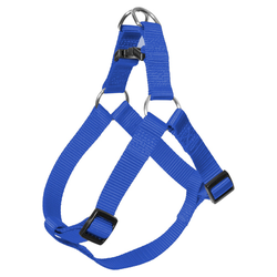 Duvo+ Nylon Step In Geschirr dunkelblau, Maße: 65-80 cm / 25 mm