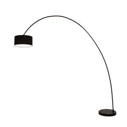 Kiom Stehlampe Bogenleuchte Elegant Arc black H: 225 cm