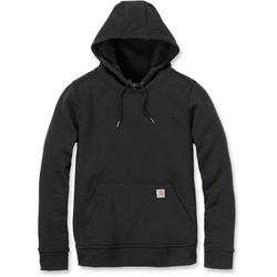 Carhartt Clarksburg Pullover Ladies Sweatshirt, black, Größe S für Frauen