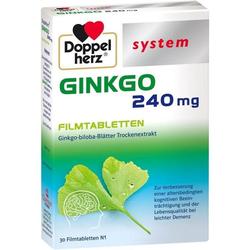 Doppelherz Ginkgo 240 mg system