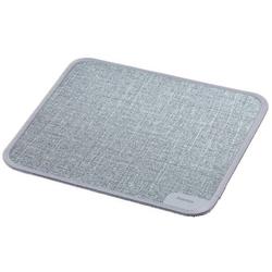 Hama  Textildesign  Mauspad Grau (B x H x T) 190 x 3 x 190mm