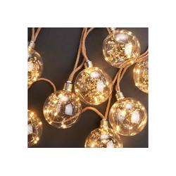 BUTLERS Lichterkette BULB LIGHTS LED Lichterkette Trockenblume
