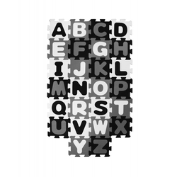 Puzzlematte ABC NORDIC BIECO