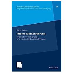 Interne Markenführung. Rico Piehler  - Buch