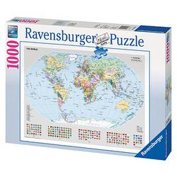 Ravensburger Politische Weltkarte Puzzle 1000 Teile