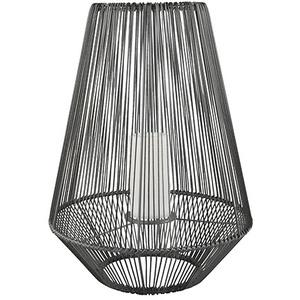 Laterne Solar Außen Modern Große Solarlaterne für Außen Deko Laterne mit LED Kerze, mit flackerndem Lichteffekt, 1x LED Akku, H 51 cm