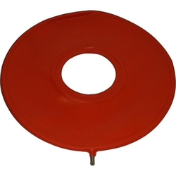 LUFTKISSEN Gummi 42,5 cm rot 1 St