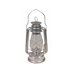 MFH Außen-Stehlampe Sturmlaterne, Zink, Höhe 30 cm
