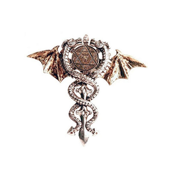 Adelia´s Amulett Forbidden Talisman, Heiliges Drachenamulett - Physischer, psychischer Schutz