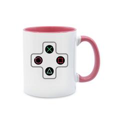 Shirtracer Tasse Gamer Controller - Tasse zweifarbig