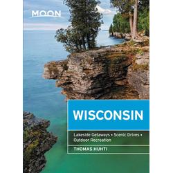 Moon Wisconsin: eBook von Thomas Huhti