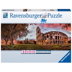 Colosseum im Abendrot 1000 Teile Puzzle