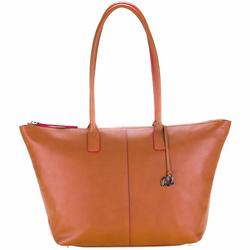 Mywalit Sorano Shopper Tasche Leder 31 cm dune
