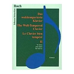 Das wohltemperierte Klavier / The Well-Tempered Clavier / Le Clavier bien tempéré  für Klavier. Johann Sebastian Bach  - Buch
