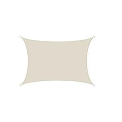 AMANKA Sonnensegel Sonnensegel Namib Beige L 3x4m Polyester, Überdachung Garten 3x4 m