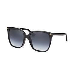Gucci GG 0022S 001, Cat Eye Sonnenbrille, Damen
