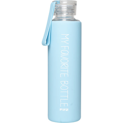 "Trinkflasche ""My favorite bottle"", blau"