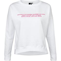 Get Fit Violet - Sweatshirt - Damen White