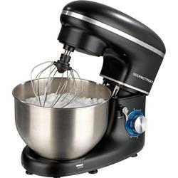 GOURMETmaxx Küchenmaschine schwarz, 1500 W, 5 l Schüssel
