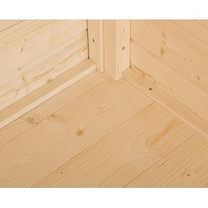 Weka Boden für Gerätehaus 345 Gr.2, natur 180 x 135 cm