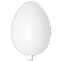 Kunststoff-Ei, 18 cm