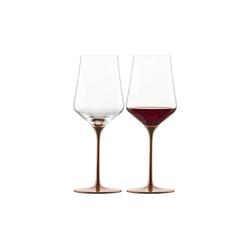 Eisch Rotweinglas KAYA Rotweinglas 490 ml 2er Set im Geschenkkarton (2-tlg), Glas