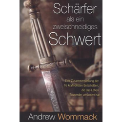 Schärfer als ein zweischneidiges Schwert als Buch von Andrew Wommack