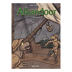Alkandoor 02: Der Pakt. Christine Kaiser  - Buch