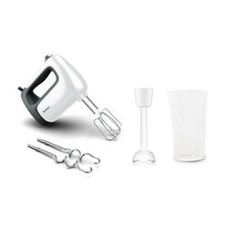 Tefal Küchenmaschine HT4611 - Handmixer - weiß/schwarz, 500 W